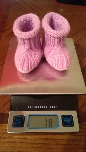 Purple Booties Weight